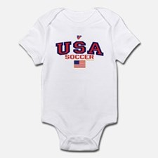 USA American Soccer Infant Bodysuit