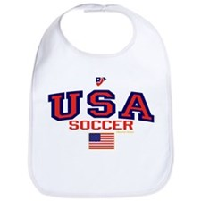 USA American Soccer Bib
