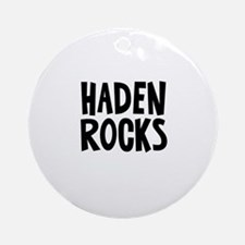 Haden Rocks Ornament (Round)
