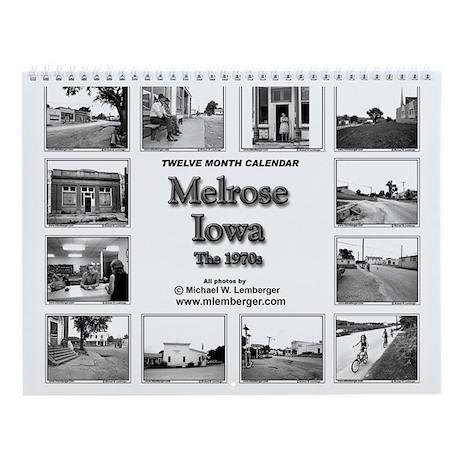 Melrose, Iowa Wall Calendar