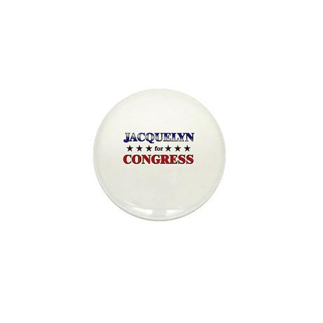 JACQUELYN for congress Mini Button