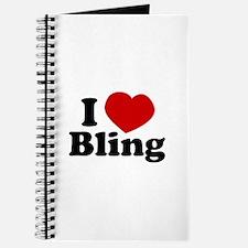 I Love Bling Journal