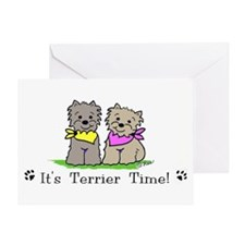 Cute Westie drawings Greeting Card