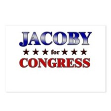JACOBY for congress Postcards (Package of 8)