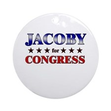 JACOBY for congress Ornament (Round)