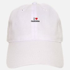 I Love CARISSA Baseball Baseball Cap