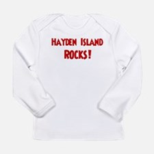 Hayden Island Rocks Long Sleeve T-Shirt