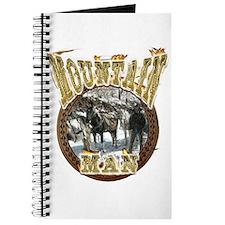 Mountain man gifts t-shirts a Journal