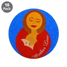 """Mother Love 3.5"""" Button (10 pack)"""