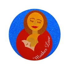"Mother Love 3.5"" Button (100 pack)"