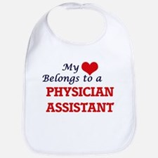 My heart belongs to a Physician Assistant Bib