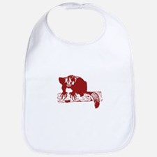 Red Lemur Bib