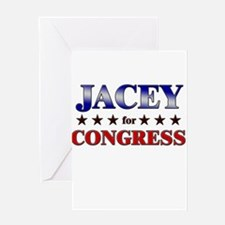 JACEY for congress Greeting Card