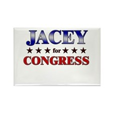 JACEY for congress Rectangle Magnet