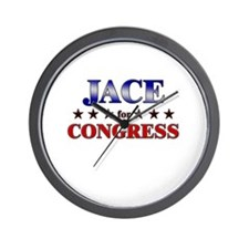JACE for congress Wall Clock