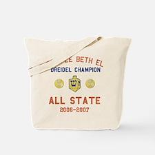 Dreidel Champion Tote Bag