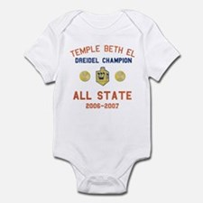 Dreidel Champion Infant Bodysuit