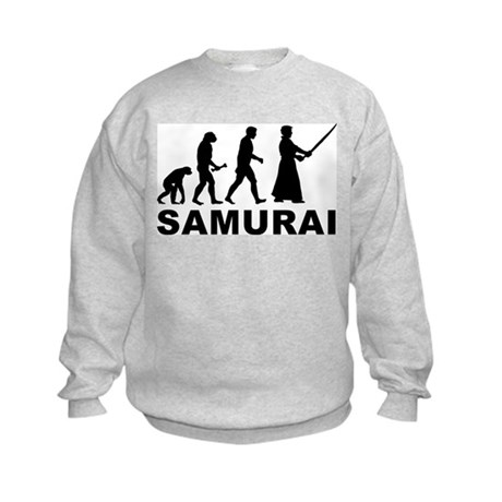 Samurai Evolution Kids Sweatshirt