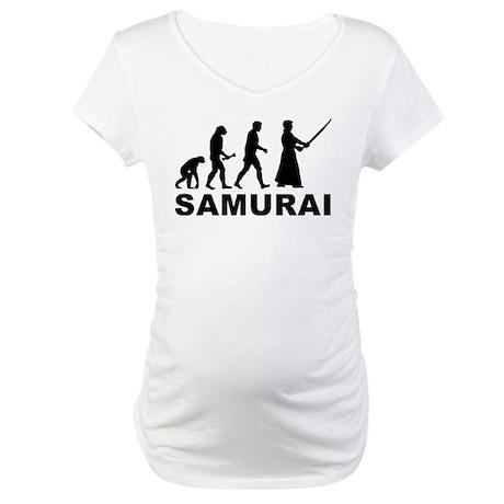 Samurai Evolution Maternity T-Shirt