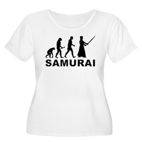 Samurai Evolution Women's Plus Size Scoop Neck T-S
