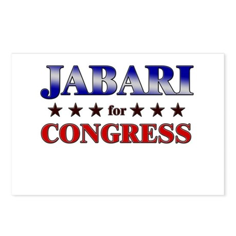 JABARI for congress Postcards (Package of 8)