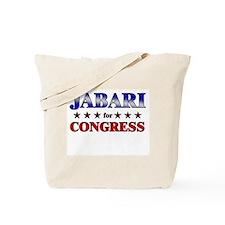 JABARI for congress Tote Bag