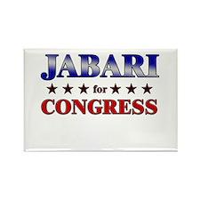 JABARI for congress Rectangle Magnet