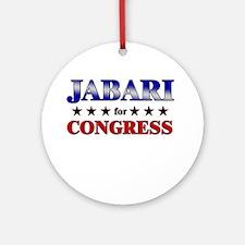 JABARI for congress Ornament (Round)