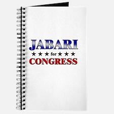 JABARI for congress Journal
