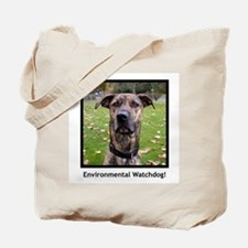 Environmental Watchdog canvas tote bag.