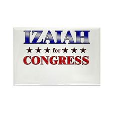 IZAIAH for congress Rectangle Magnet