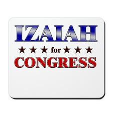 IZAIAH for congress Mousepad