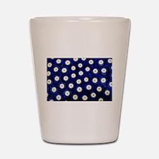 Polish Pottery Polka Dots Shot Glass