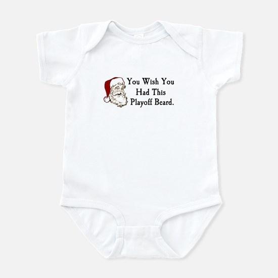 Santa's Playoff Beard Infant Bodysuit