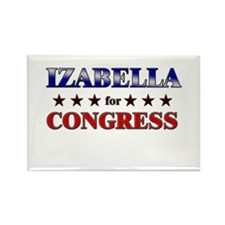 IZABELLA for congress Rectangle Magnet