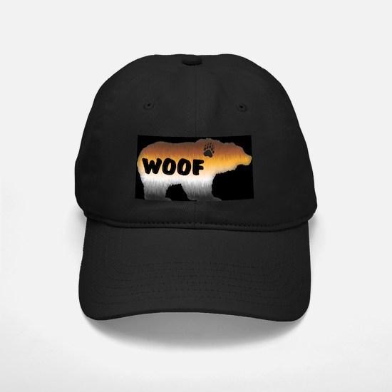 PRIDE BEAR/WOOF/BLK Baseball Hat