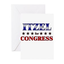 ITZEL for congress Greeting Cards (Pk of 20)