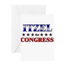 ITZEL for congress Greeting Card