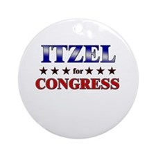 ITZEL for congress Ornament (Round)