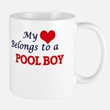 My heart belongs to a Pool Boy Mugs
