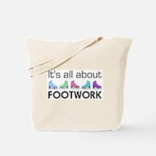 About Footwork Multi Skates Tote Bag
