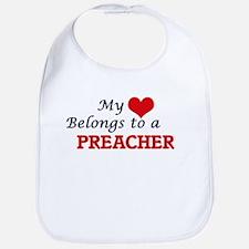 My heart belongs to a Preacher Bib