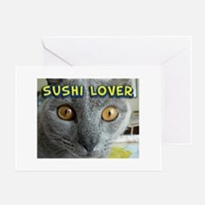 Sushi Lover Greeting Card