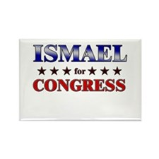 ISMAEL for congress Rectangle Magnet (10 pack)