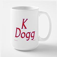 K Dogg Large Mug