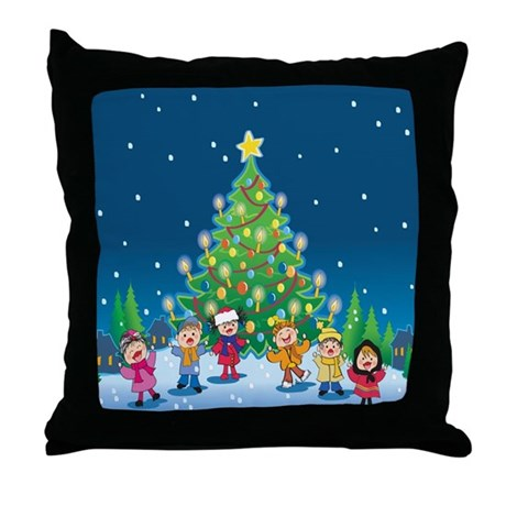 Christmastime is here!! 2008 Throw Pillow