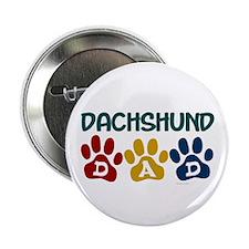 """Dachshund Dad 1 2.25"""" Button (10 pack)"""