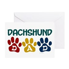 Dachshund Dad 1 Greeting Card