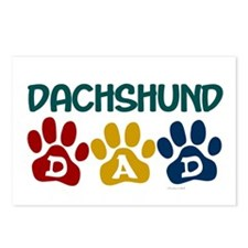 Dachshund Dad 1 Postcards (Package of 8)
