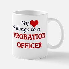 My heart belongs to a Probation Officer Mugs